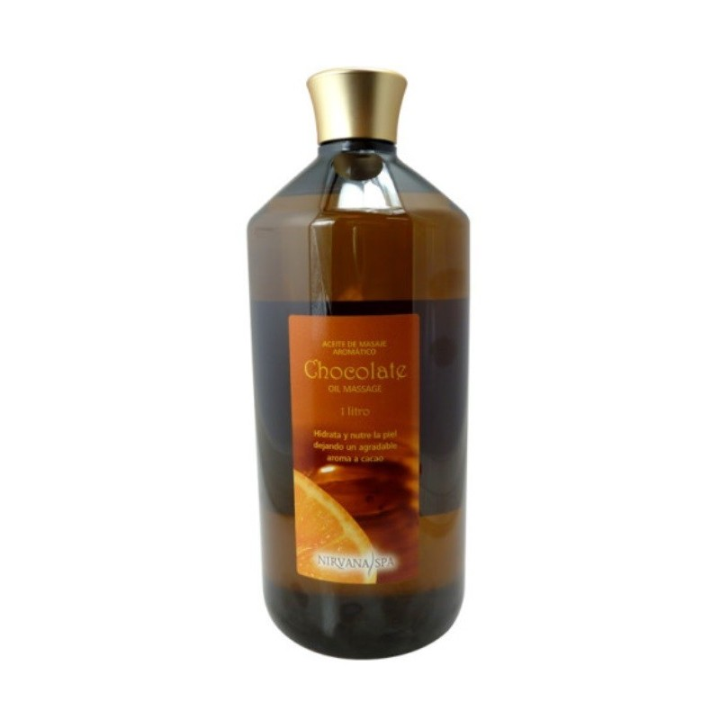 Aceite Masaje Chocolate 1000ml - NIRVANA SPA - clickestetica.com