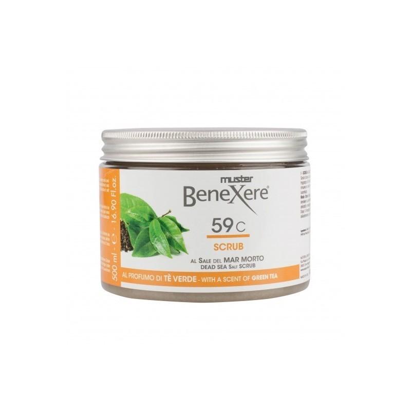 BENEXERE Exfoliante Te Verde 59C 600g - clickestetica.com